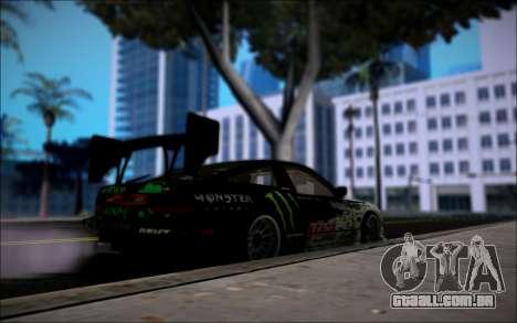 Nissan 240SX Monster Energy para GTA San Andreas traseira esquerda vista