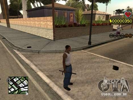 C-HUD Guns para GTA San Andreas segunda tela
