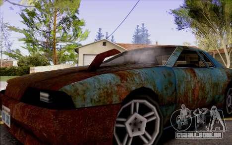 Elegy by Swizzy para GTA San Andreas vista direita