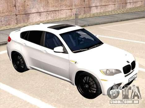 BMW X6 Hamann para GTA San Andreas vista direita