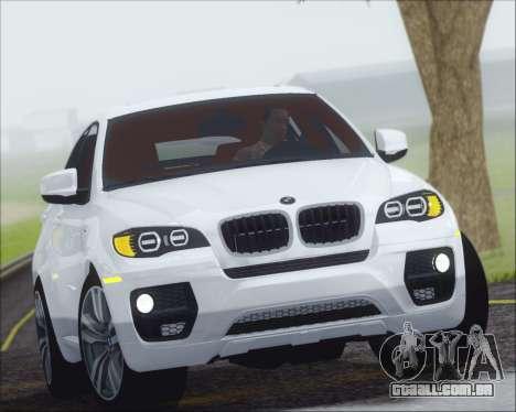 BMW X6 M 2013 Final para GTA San Andreas