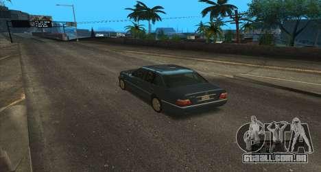 ENB Series for SA:MP para GTA San Andreas sexta tela