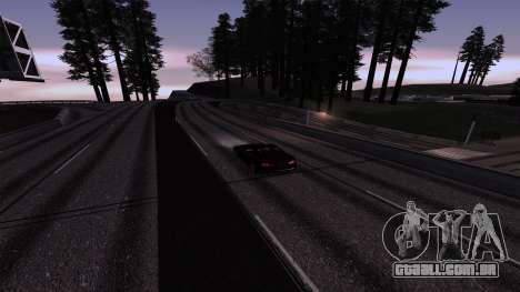 New Roads v3.0 Final para GTA San Andreas segunda tela
