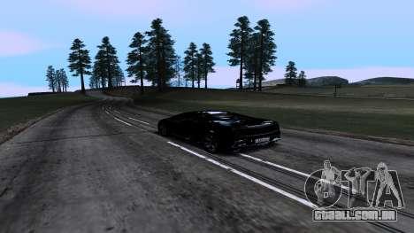 New Roads v1.0 para GTA San Andreas quinto tela