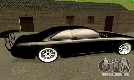 Nissan Silvia S14 para GTA San Andreas traseira esquerda vista