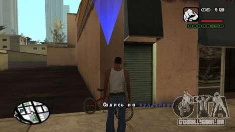 Nova fonte V.2 para GTA San Andreas sexta tela