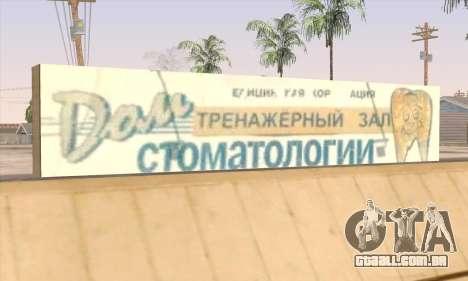 Loja De Alimentos Saudáveis para GTA San Andreas sexta tela