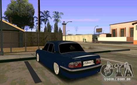 GAZ 31105 para GTA San Andreas vista interior