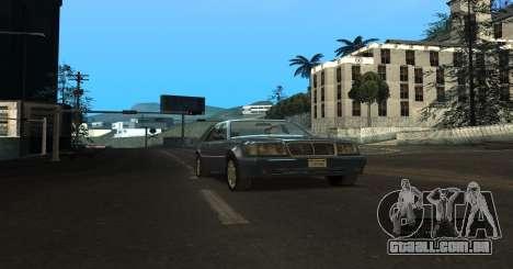 ENB Series for SA:MP para GTA San Andreas por diante tela