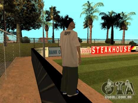 Pele Tracer FALHA Equipe para GTA San Andreas terceira tela