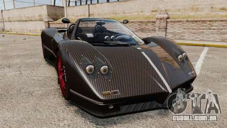 Pagani Zonda C12 S Roadster 2001 PJ3 para GTA 4