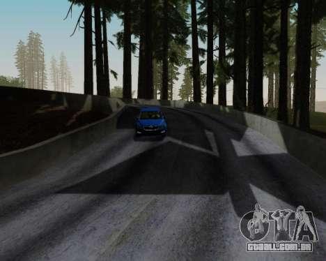 Skoda Octavia A7 RS para GTA San Andreas vista inferior