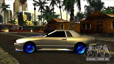 Elegy Neli para GTA San Andreas esquerda vista