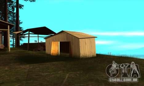 Casas novas no PANOPTICON para GTA San Andreas terceira tela