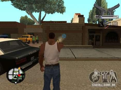 С-HUD por MoLoT para GTA San Andreas segunda tela