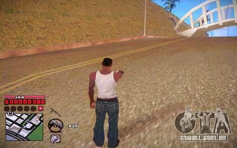 C-HUD by ComPot para GTA San Andreas quinto tela
