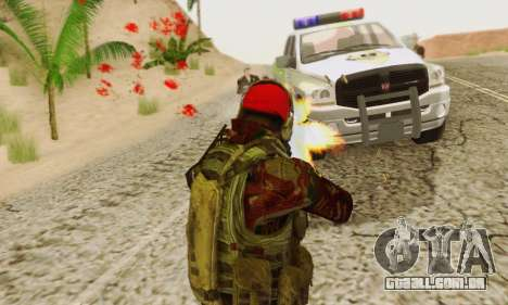 Blood On Screen para GTA San Andreas sétima tela
