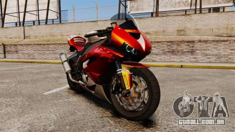 Kawasaki Ninja ZX-6R v2.0 para GTA 4
