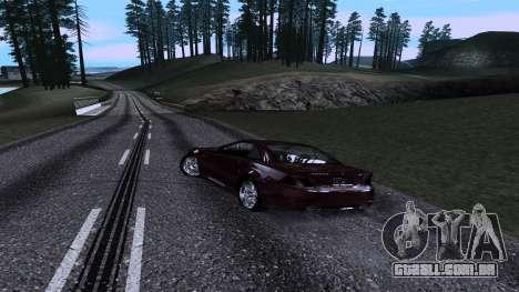 New Roads v3.0 Final para GTA San Andreas terceira tela