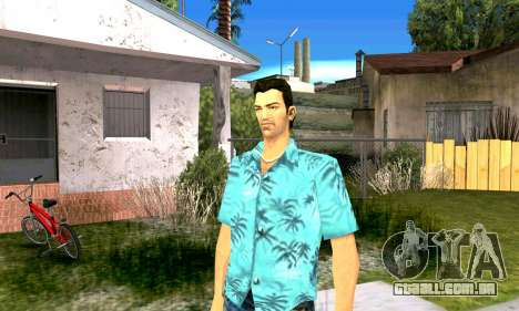O som do GTA SA após completar a missão para GTA Vice City