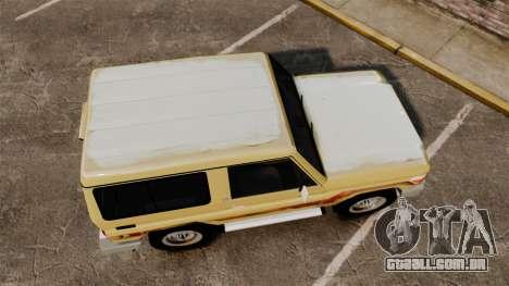 Toyota Land Cruiser 70 2014 para GTA 4 vista direita
