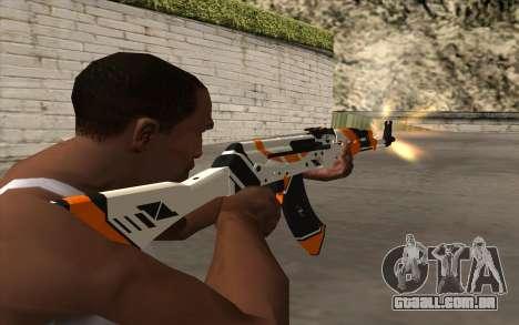 AK-47 para GTA San Andreas sexta tela