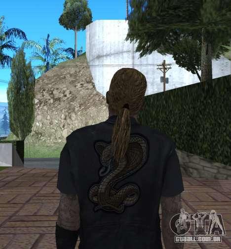 New Wmycr para GTA San Andreas quinto tela