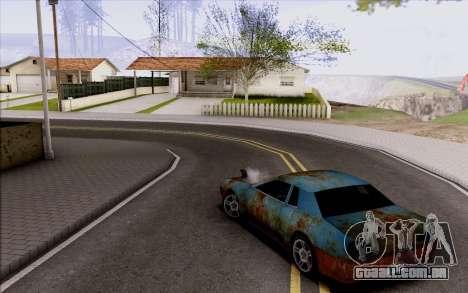 Elegy by Swizzy para GTA San Andreas vista traseira