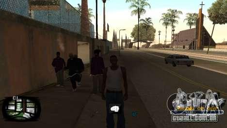 C-HUD Kings of Rap para GTA San Andreas