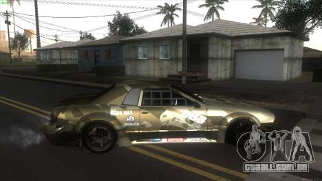 Elegy Fail Crew by Black para GTA San Andreas esquerda vista
