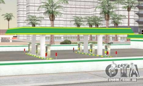 Preencher o estilo de todo o governo para GTA San Andreas por diante tela