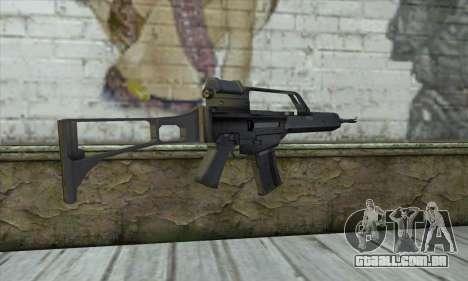 HK G36 para GTA San Andreas segunda tela