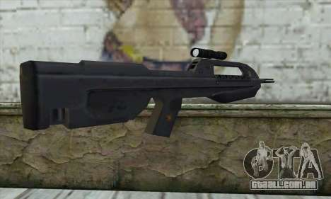 Halo 2 Battle Rifle para GTA San Andreas segunda tela