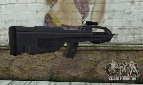 Halo 2 Battle Rifle para GTA San Andreas segunda tela