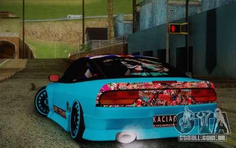 Nissan 240SX Drift Stance para GTA San Andreas vista direita