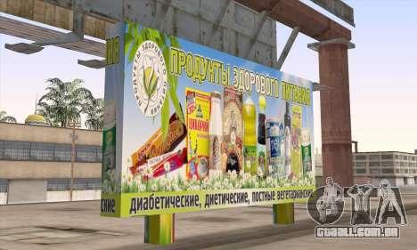 Loja De Alimentos Saudáveis para GTA San Andreas segunda tela
