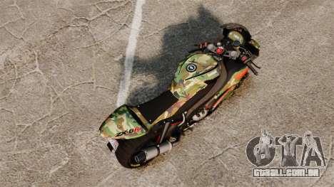Kawasaki Ninja ZX-6R v2.0 para GTA 4 traseira esquerda vista