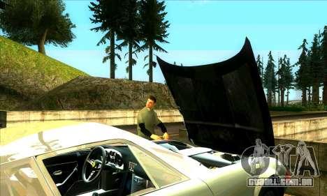 Situação de vida v2.0 para GTA San Andreas por diante tela