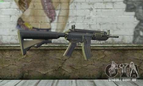 M4A1 S - System para GTA San Andreas segunda tela