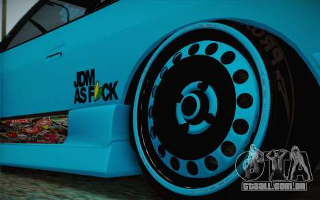 Nissan 240SX Drift Stance para GTA San Andreas vista traseira