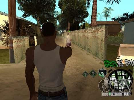 C-HUD Groove Street para GTA San Andreas sexta tela