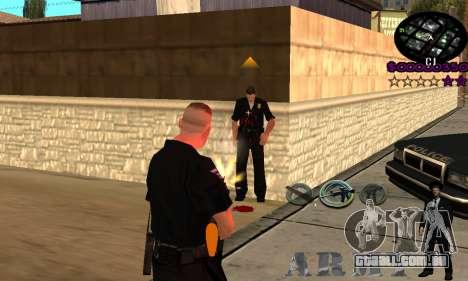 C-HUD Army para GTA San Andreas terceira tela