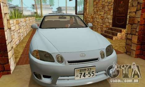 Lexus SC300 v1.01 [ImVehFT] para GTA San Andreas vista traseira