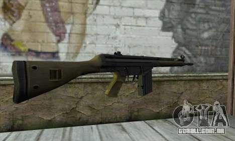G3A3 para GTA San Andreas segunda tela