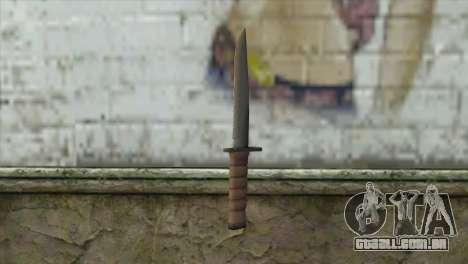 KA-BAR Knife para GTA San Andreas