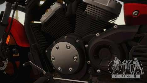 Yamaha Star Stryker 2012 para GTA San Andreas traseira esquerda vista