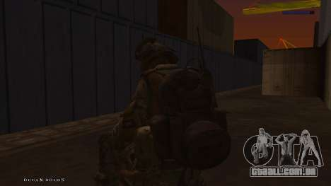 Ranger из Call Of Duty: Ghosts para GTA San Andreas sexta tela