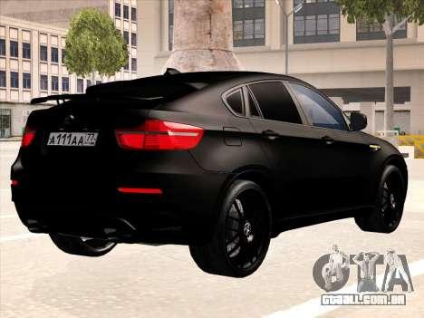 BMW X6 Hamann para o motor de GTA San Andreas