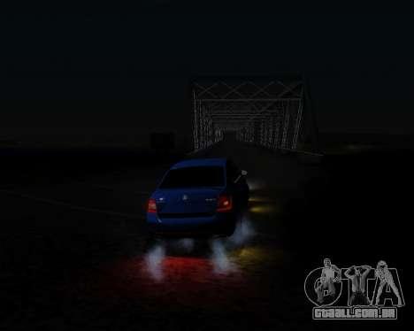 Skoda Octavia A7 RS para GTA San Andreas vista interior