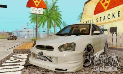 Subaru Impreza WRX Estoque para GTA San Andreas